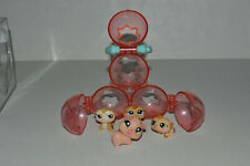 Littlest Pet Shop~#1477~#1478~#1479~Petriplets Hamsters~3 Stacked Ball Houses