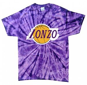 new concept 54fd4 30c04 Details about Tie-Dye Lonzo Ball Los Angeles Lakers