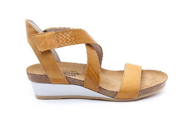 Naot Cupido Mujer Mujer Mujer Zapatos Sandalias Plataforma De Cuña De Cuero Con Tiras Puntera abierta Correa  garantizado