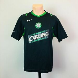 new arrival 768d6 cea33 Details about Nike Celtic Carling Black Men's Soccer Jersey Size Medium