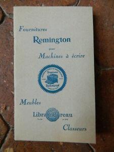 Catálogo Comercial Remington Muebles, Máquina De Escribir Escritorio Tarifa S. D