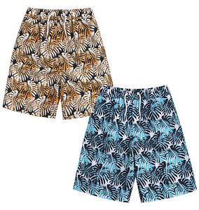 Boys-Swimming-Shorts-Kids-Bermuda-Holiday-Trunks-2-3-4-5-6-7-8-9-10-11-12-13-Yrs