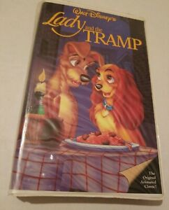 Lady And The Tramp Vhs 1998 Clam Shell 786936078541 Ebay