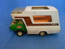 Vtg TONKA Truck Camper Pressed Steel Toy 1974-75 RV Camping Winnebago Parks Minn