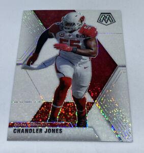 2020 Panini Mosaic SSP Chandler Jones WHITE SPARKLE PRIZM Arizona Cardinals #12