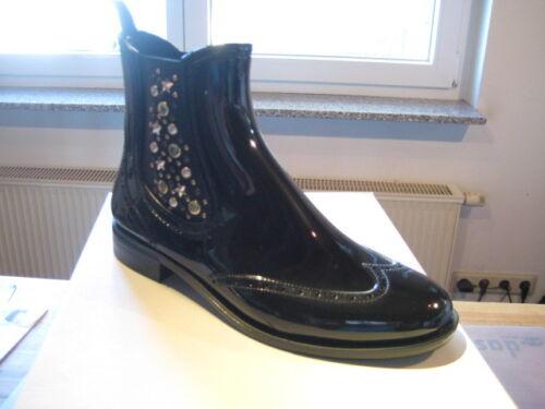 Jodphurboots-lackoptik-Noir et Marron-Prix Spécial