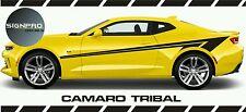 Decals Vinyl Tribal Rocker Stripes Fits Chevy  Camaro SS RS 2016 Z28 2010 - 2017