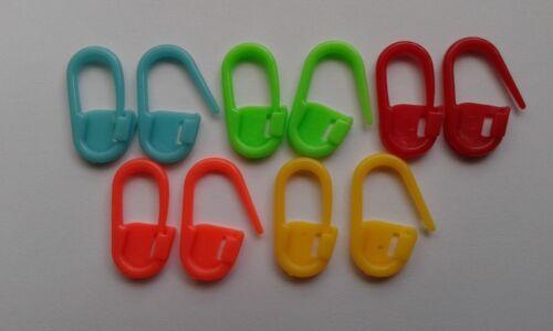 Plastica bloccaggio ago Stitch titolari dei contrassegni per Uncinetto Lavoro a Maglia Craft Clip