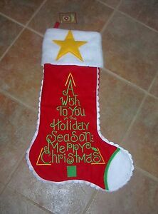Image Is Loading 2 Foot Long Christmas Stocking Re S 40 Big
