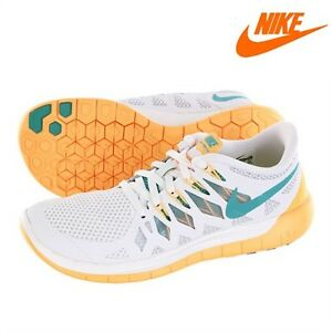 online store 06be3 bb8f8 Image is loading Nike-Free-5-0-Running-Shoe-White-Woman-