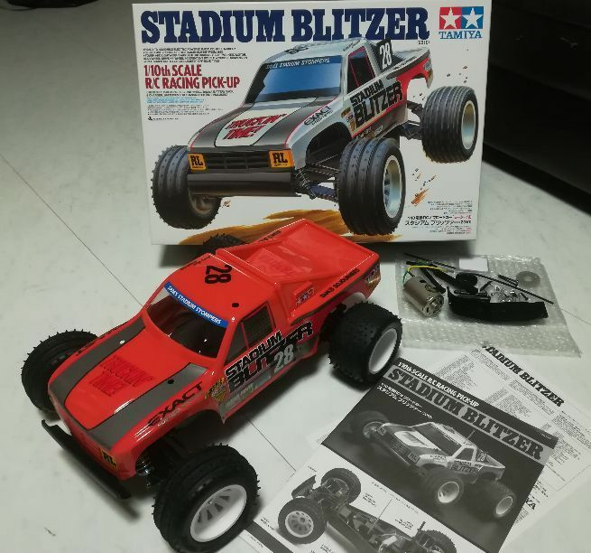 Super Rare  Tamiya Stadium Blitzer Radio control car Form JAPAN  free shipping