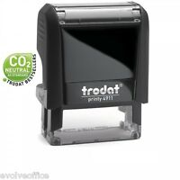 Trodat 4911 Printy Rubber Stamp - 37x12mm Self Inking Custom Rubber Stamp