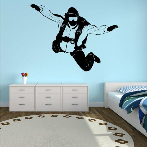 Sky Diver Vinilo el arte de pared calcomanía habitación calcomanía
