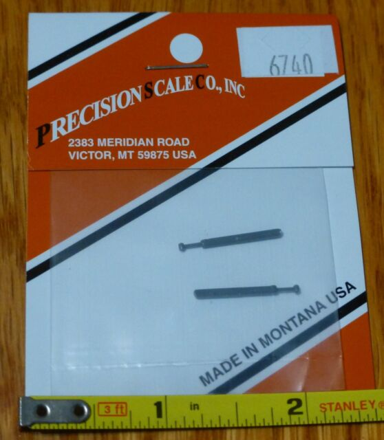 Precision Scale N #6740 Markers Plastic Parts #M-1000 Side Mount Style for
