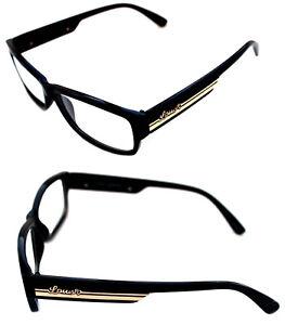 f674adc5af Men s Women s small square Shape Louis Paris Clear Lens Eye Glasses ...