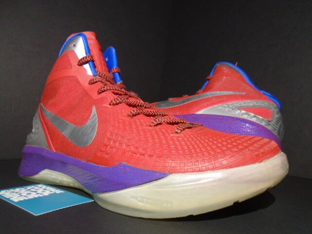 NIKE ZOOM HYPERDUNK 2018 SUPREME BLAKE GRIFFIN PE CLIPPERS RED SILVER BLUE 10.5 Wild casual shoes