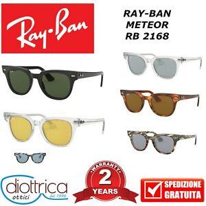 RAY-BAN-RB-2168-METEOR-UOMO-DONNA-POLARIZZATO-SPECCHIO-RAYBAN-OCCHIALE-DA-SOLE