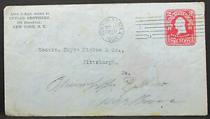 US-Postal-Stationery-Adv-Cover-Butler-Brothers-Ny-2c-1904-GS-USA-Letter-H-7905