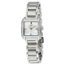 Tissot T-Wave Mother of Pearl Dial Stainless Steel Ladies Watch T02138571