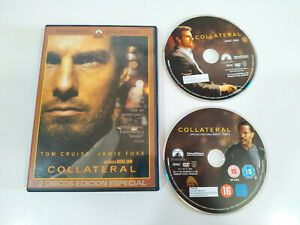 Collateral-Tom-Cruise-Jamie-Foxx-2-x-DVD-Edicion-especial-Espanol-English