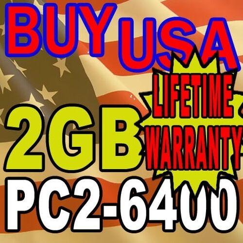 2GB Dell Vostro A100 A840 A860 A90 200PIN Memory RAM