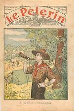 Birdwatch Bugle Réveil Clairon Camp Scouts Louveteaux Catholique Campagne 1932
