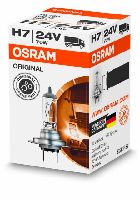 OSRAM H7 Lampe 70 Watt Truckstar 64215 PX26d 70W Birne Scheinwerfer 24 Volt LKW