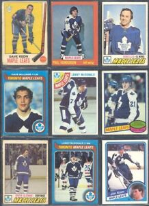 10-1970-039-s-amp-Up-Toronto-Maple-Leafs-Hockey-Card-Lots-of-50-You-Pick-Lot-BONUS