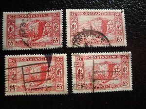 Argelia-Sello-Yvert-Y-Tellier-N-131-x4-Matasellados-A29-Stamp-Algeria-U