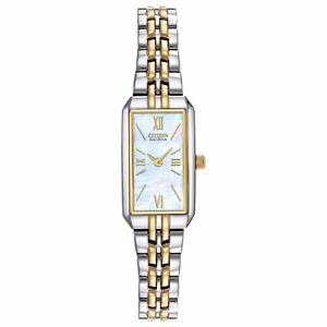 Citizen Eco-Drive Women's EG2694-59D Refurbished Two-Tone Bracelet 15mm Watch