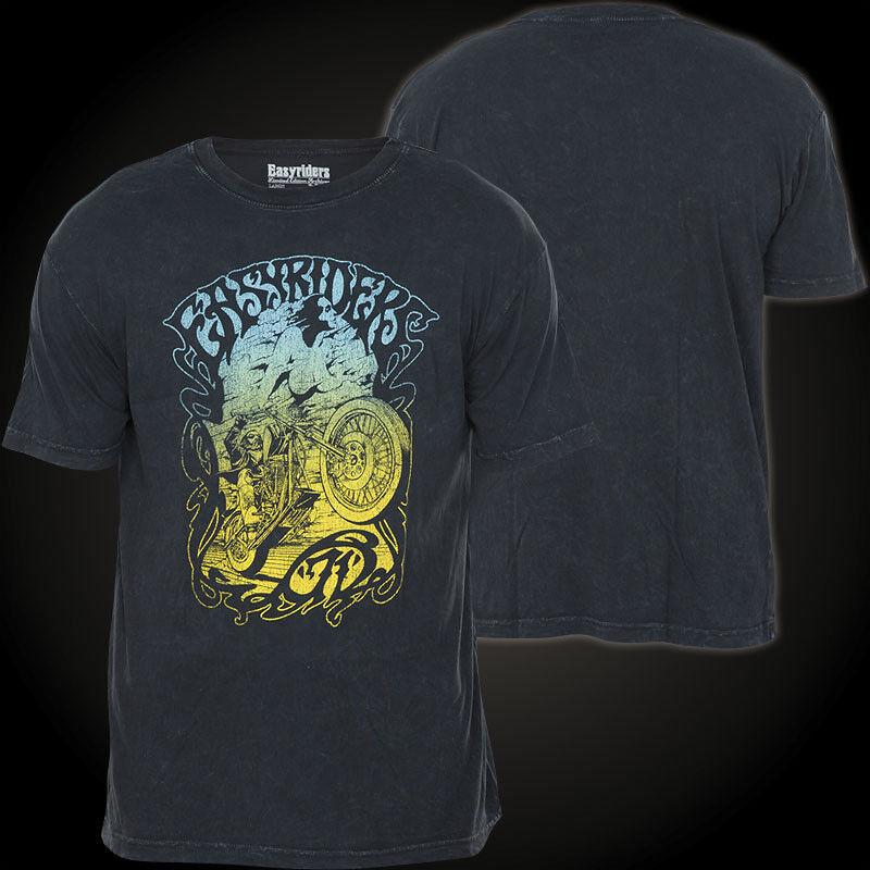 AFFLICTION T-Shirt Wheelie Schwarz T-Shirts