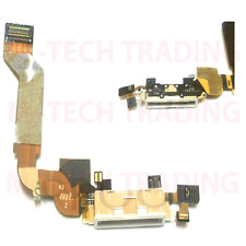 Nuevo Iphone 4s Original Interior Blanco De Carga Conector Dock Cable Flex parte