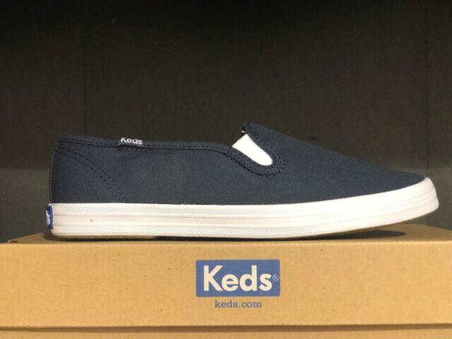 Keds Women/'s Champion Original Canvas Slip-On Sneaker