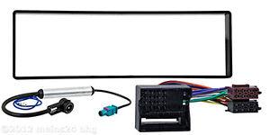 CITROEN-C4-Radio-Blende-Rahmen-Radioblende-Einbaurahmen-Radioadapter-Adapter-ISO