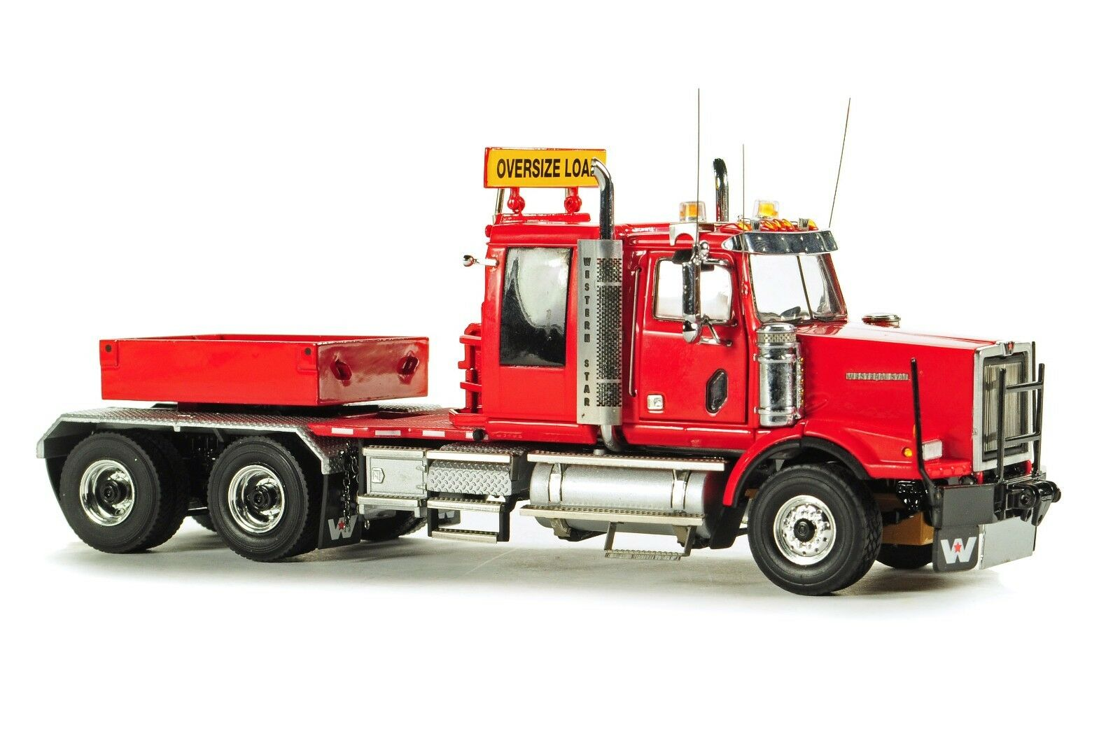 NEW WSI 34-2003 Western Star 4964SX-1 Lourd Tracteur avec ballast Box-Rouge 1 50 Comme neuf IN BOX