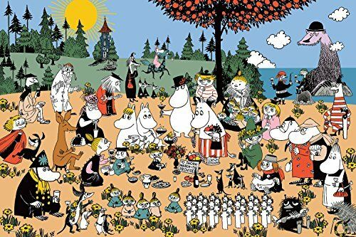 1000 Pieces Jigsaw Puzzle Wonderful Moomin Valley (50 x 75 cm) from Japan