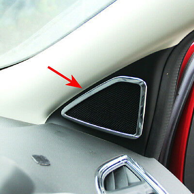 Door Handle Frame Cover 8Pcs Stainless Steel Car Door Interior Handle Frame Cover Sticker for Kuga Escape 13-18