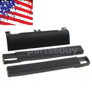 HDD-Hard-Drive-Caddy-Cover-amp-Rubber-Rails-For-Dell-Latitude-E6330-E6430-E6530