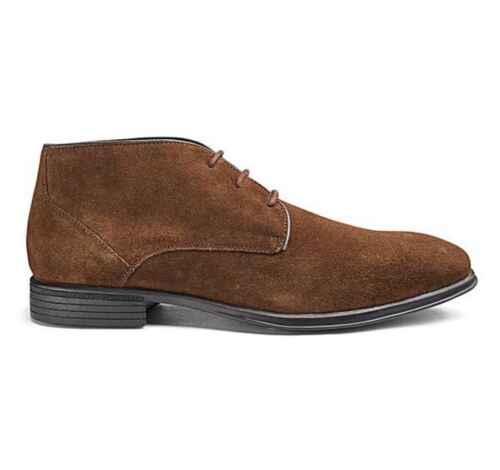 9 Up Uk Soleform Lace Shoes Taglia Real Marrone Formal Mens Suede Ww08q0Rv1a
