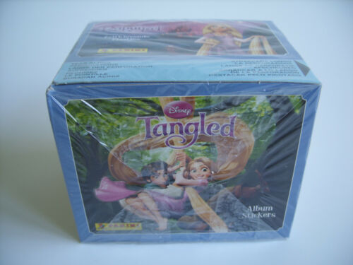 pochette Tangled Panini Rapunzel 50 Tüten packs Display // Box bustina !!!