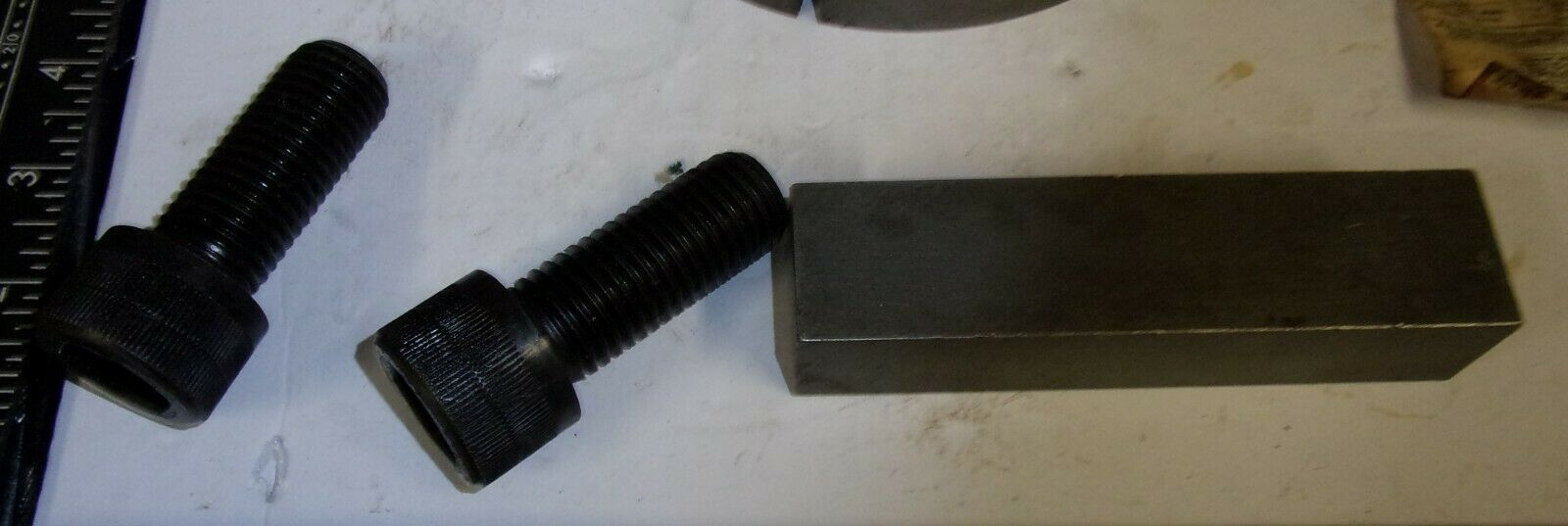 """ELECTRON SDS 1 15//16/"""" TAPPER LOCK BUSHING WITH 1//2/"""" KEY AND BOLTS"""