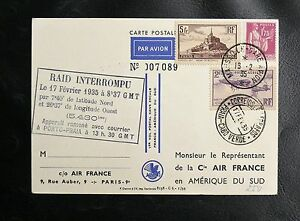 1er-VOL-SANS-ESCALE-FRANCE-AMERIQUE-DU-SUD-RAID-INTERROMPU-17-FEVRIER-1935