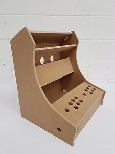 Image Is Loading BARTOP ARCADE MACHINE 2 PLAYER DIY FLAT PACK