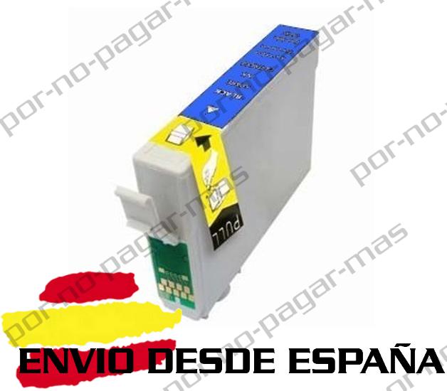 1 CARTUCHO COMPATIBLE CIAN NonOem PARA EPSON STYLUS SX420W SX425W T1285