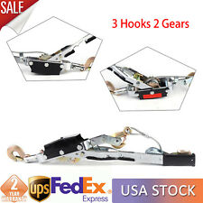 5 Ton Hand Come A Long Ratchet Winch Hoist Puller Cable Puller Tool With3 Hooks Us