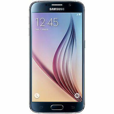 Sim Free Samsung Galaxy S6 5.1 Inch Full HD 16MP 32GB Smart Mobile Phone - Black