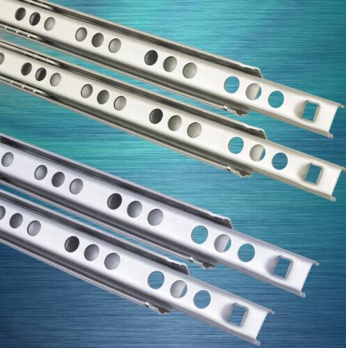 Rails de tiroir en acier inoxydable de tiroir extrait télescopique rails acier teilauszug