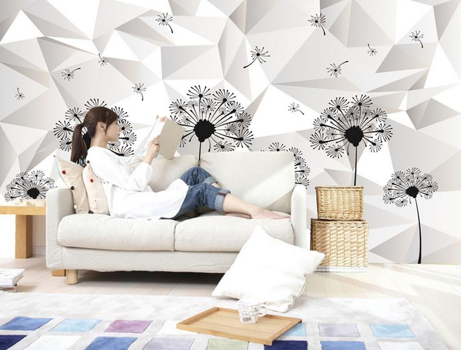 3D Moderner Löwenzahn 9 Tapete Wandgemälde Tapete Tapeten Bild Familie Familie Familie DE Summer | Attraktiv Und Langlebig  | Zarte  | Moderater Preis  711b4b