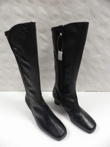 Black Leather Jonno Boots Umbell 40 Boots Woman Boots Women Nuovo Leather Size FzTaEqz