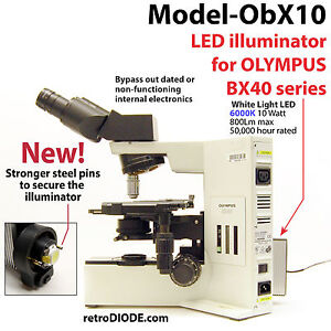 LED-illuminator-retrofit-Kit-with-dimmer-control-for-older-Olympus-microscopes